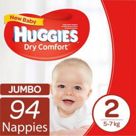 Huggies Dry Comfort (All Sizes)
